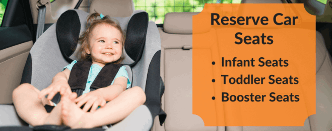 Fort Lauderdale airport car service with car seat