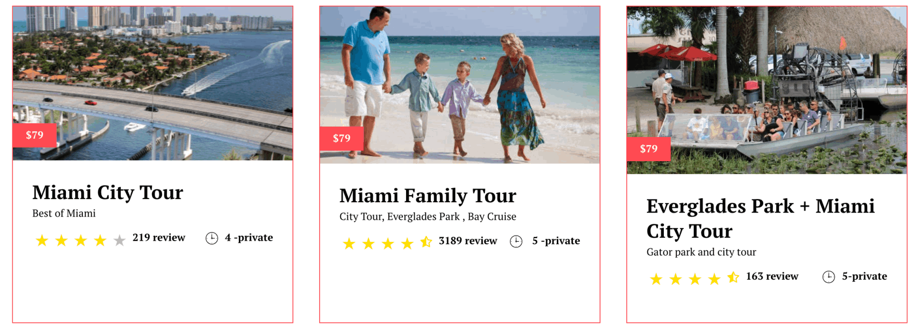 Miami Tours for family